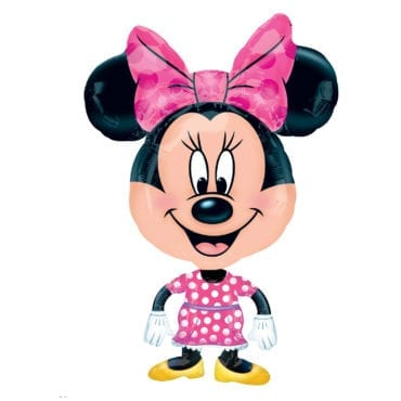 Balão Foil Airwalker Buddies - Minnie Mouse