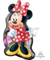 Balão Foil  SuperShape Corpo Minnie Mouse