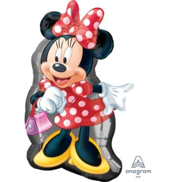 Balão Foil  SuperShape  Corpo Minnie Mouse
