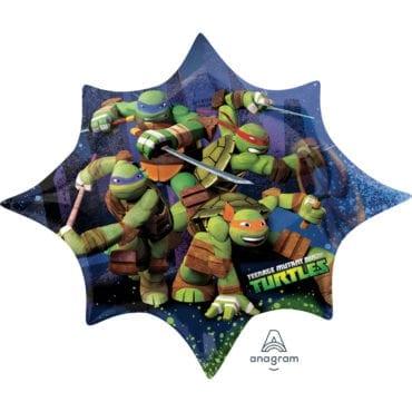 Balão Foil  SuperShape Tartarugas Ninja