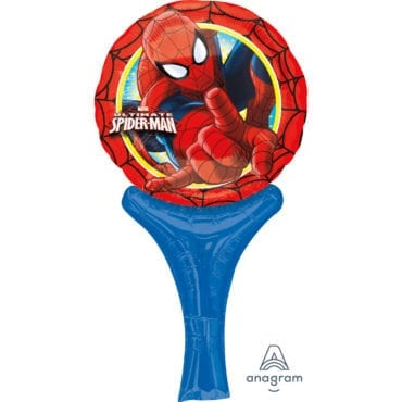 Balão Foil  Inflate a Fun Spiderman