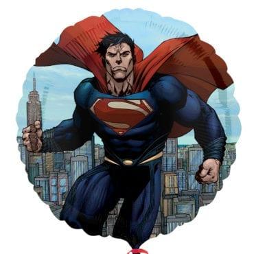Balão Foil  Man of Steel - Super Homem