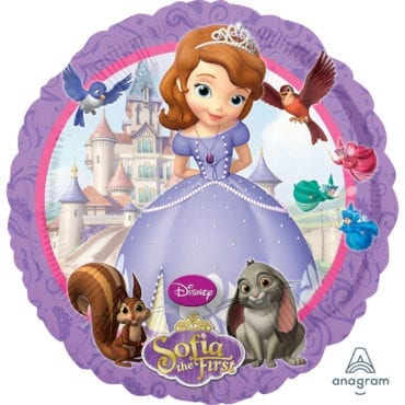 Balão Foil  Sofia the First