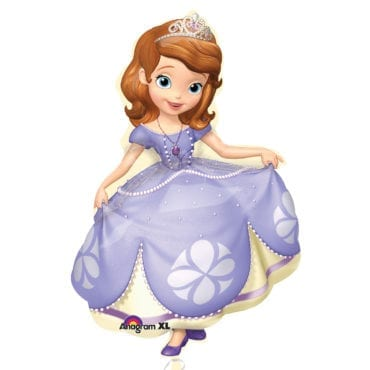 Balão Foil  SuperShape Sofia the First