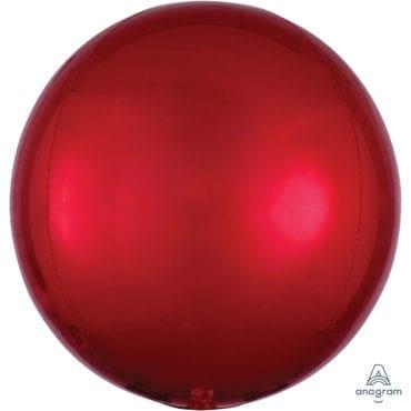 Balão Foil Orbz  Vermelho