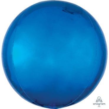 Balão Foil Orbz  Azul Escuro
