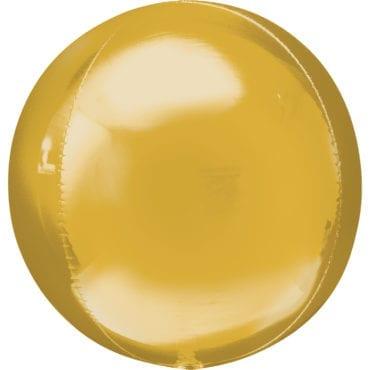 Balão Foil Orbz  Dourado