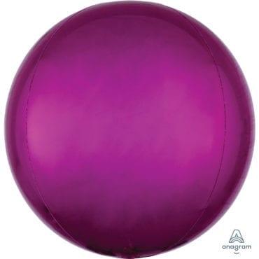 Balão Foil Orbz  Rosa Choque