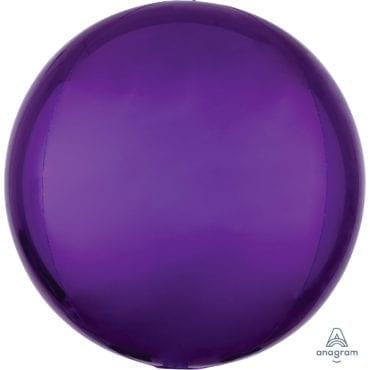 Balão Foil Orbz  Roxo