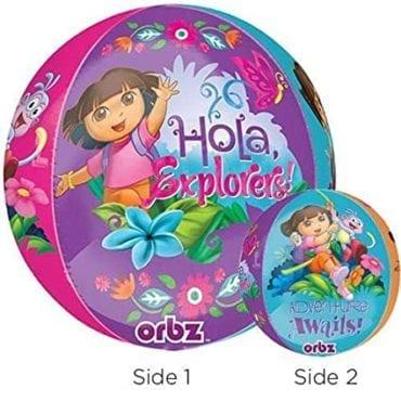 Balão Foil Orbz Dora a Exploradora