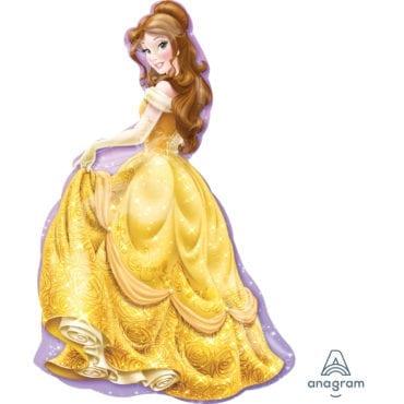 Balão Foil  SuperShape Princesas Disney - A Bela e o Monstro