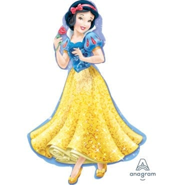 Balão Foil  SuperShape Princesas Disney - Branca de Neve