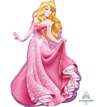 Balão Foil  SuperShape Princesas Disney - A Bela Adormecida