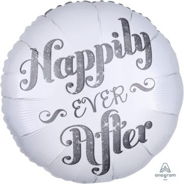 Balão Foil  Happily Ever After Shimmer