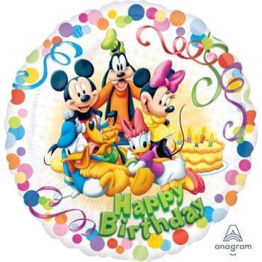Balão Foil  Mickey & Friends Party