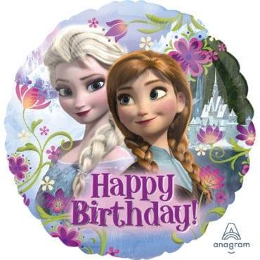 Balão Foil  Happy Birthday Frozen