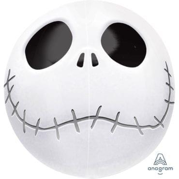 Balão Foil Orbz Halloween - Jack Skellington