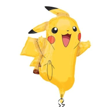Balão Foil  SuperShape Pokemon - Pikachu