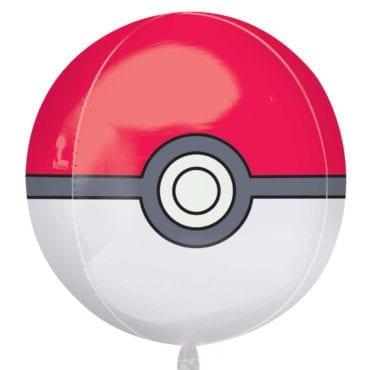 Balão Foil Orbz Pokémon - Poké Ball