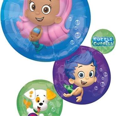Balão Foil  SuperShape Bubble Guppies