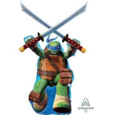 Balão Foil  SuperShape Tartarugas Ninja - Leon