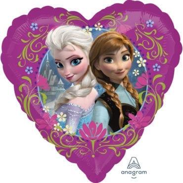 Balão Foil  Coração Frozen