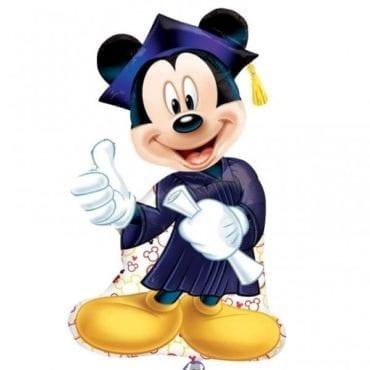 Balão Foil  SuperShape Mickey Graduação