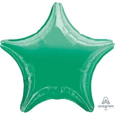 Balão Foil   Estrela Verde