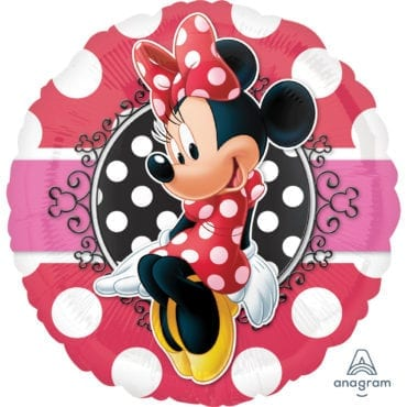 Balão Foil  Retrato Minnie Mouse