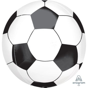 Balão Foil Orbz Bola de Futebol