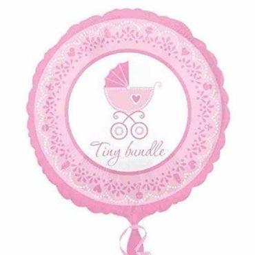 Balão Foil Standard Celebrate Baby Girl