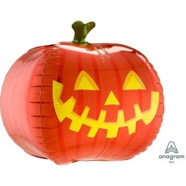 Balão Foil UltraShape  Halloween - Abóbora