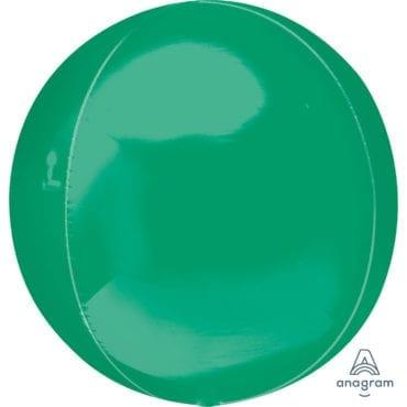 Balão Foil Orbz  Verde Escuro