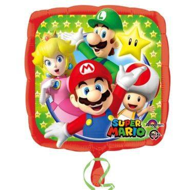 Balão Foil  Super Mario
