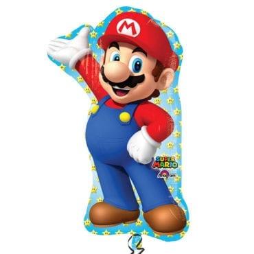Balão Foil SuperShape Super Mario
