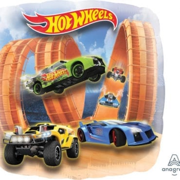 Balão Foil  SuperShape Hot Wheels Panoramico