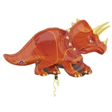 Balão Foil SuperShape Dinossauro - Triceratops