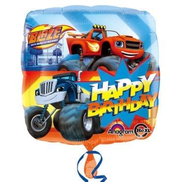 Balão Foil  Happy Birthday Blaze
