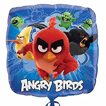 Balão Foil  Angry Birds Movie