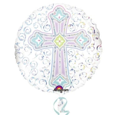 Balão Foil Standard Cruz