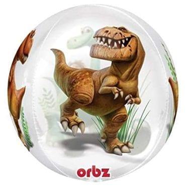 Balão Foil Orbz Clear Good Dinosaur