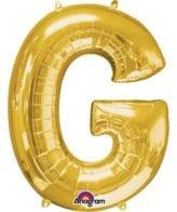 Balão Foil 86cm Dourado Letra G