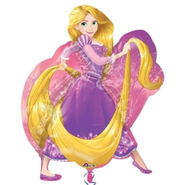 Balão Foil  SuperShape Princesas Disney - Rapunzel