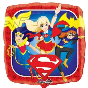 Balão Foil  DC Super Hero Girls