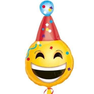 Balão Foil Junior Shape Birthday Emoji