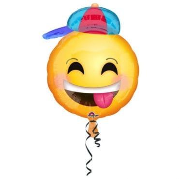 Balão Foil Junior Shape Emoji