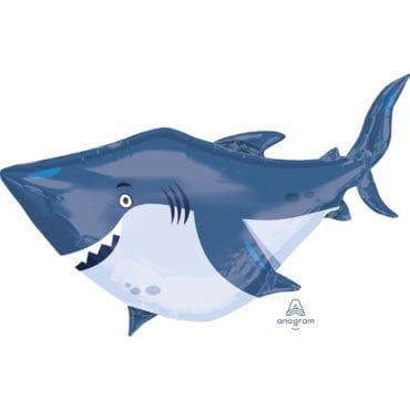 Balão Foil SuperShape Tubarão