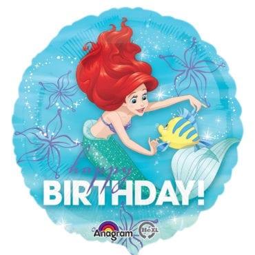 Balão Foil  Princesas Disney - Ariel (Pequena Sereia)