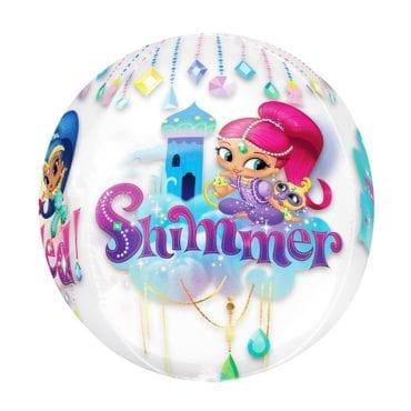 Balão Foil Orbz Shimmer & Shine