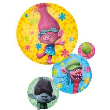 Balão Foil SuperShape Trolls